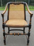 Carved Beech Framed Carver Armchair